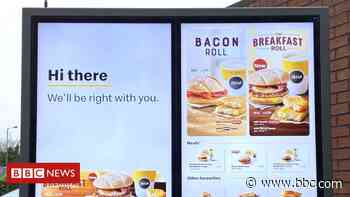 McDonald's wins English-only sign row at Caernarfon drive-thru - BBC News