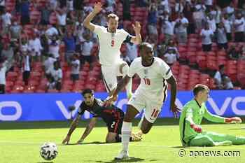 Sterling sella la victoria 1-0 de Inglaterra ante Croacia - AP News