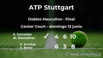 Victoria para los tenistas Gonzalez y Demoliner en la final del torneo ATP 250 de Stuttgart - EnCancha.cl
