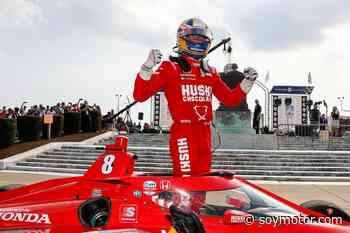 Grosjean le da a Ericsson la victoria en Detroit de rebote - SoyMotor.com