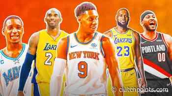 Knicks news: RJ Barrett in Kobe Bryant, LeBron James company - ClutchPoints