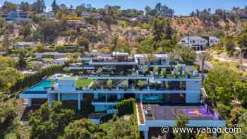 Inside a $44 Million LA Mansion With a Kobe Bryant-Themed Basketball Court and an Underground Car Gallery - Yahoo Lifestyle