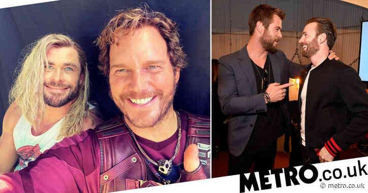 Chris Hemsworth stokes the battle of the Chrises as Avengers star trolls Chris Evans on his 40th birthday