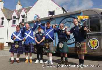 Tartan Army members set off from Caithness to support Scotland at the Euros - JohnOGroat Journal