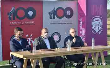 La UPrO presente en el centenario de la Liga de Fútbol Mercedes - Agencia de Noticias San Luis