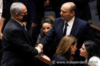 Netanyahu out as Israel parliament approves coalition government