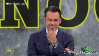 """Iñaki López se lleva una enorme sorpresa en laSexta Noche: """"¿Alguien se replanteará mi fichaje?"""" - LaSexta"""