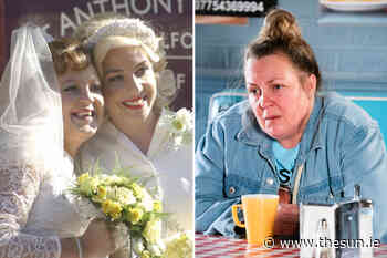 EastEnders' Lorraine Stanley unrecognisable as Big Mo in vintage flashback episode... - The Irish Sun