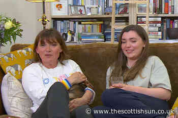 Lorraine Kelly squeals in horror at man with pierced penis on Celebrity Gogglebox... - The Scottish Sun