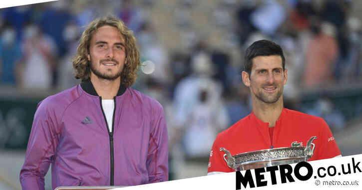 Stefanos Tsitsipas sends message to Novak Djokovic after French Open final defeat
