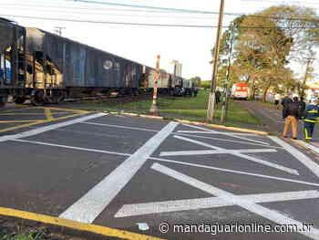 Acidente envolvendo o trem é registrado em Arapongas - Mandaguari Online