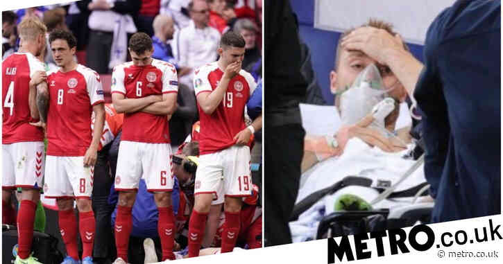 Christrian Eriksen 'feels like he could go out and play' after cardiac arrest, says Denmark head coach