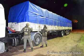 Contrabando de soja: Gendarmería secuestró 210 toneladas trasladadas desde Santa Fe hacia galpones en Salta y otras 86 toneladas en Corrientes - Argentina.gob.ar Presidencia de la Nación
