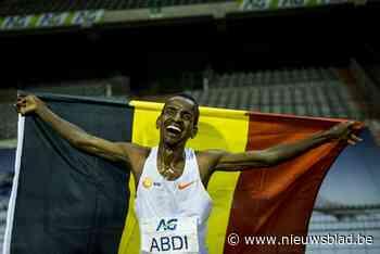 Bashir Abdi duikt in Gentbrugge onder persoonlijk record en strandt op zucht van Belgisch record halve marathon - Het Nieuwsblad