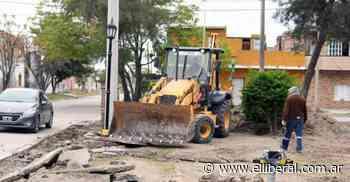 El municipio impulsa la obra de remodelación de la plaza Toro Yacu - El Liberal Digital