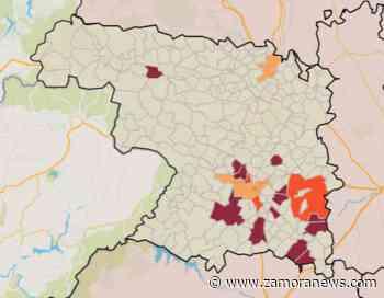 Cuatro municipios se despiden este fin de semana del morado mientras Toro pasa a nivel alto - Zamora News