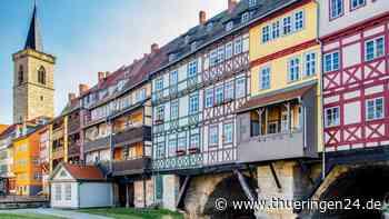 Krämerbrücke in Erfurt bekommt DIESEN besonderen Look - Thüringen24