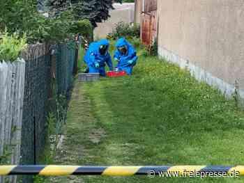 Entwarnung nach Gefahrguteinsatz in Hainichen - Freie Presse
