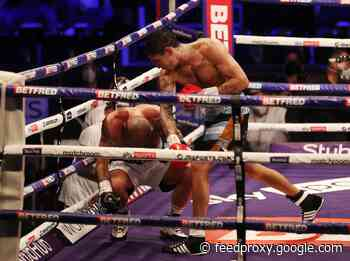 """Boxing Results: Lewis """"Sandman"""" Ritson Stopped by Jeremias Ponce in 10 in the UK Saturday!"""