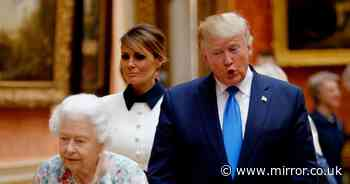 Biden's meeting with the Queen was very different to Trump's UK visit