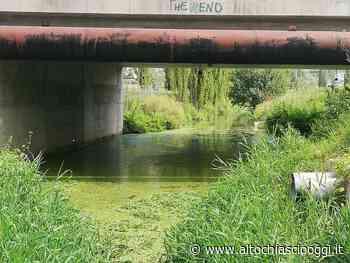 Gubbio, sedimenti recuperati nel canale di scolo delle pompe di Raggio - Alto Chiascio Oggi