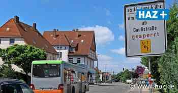 Langenhagen: Stadt saniert Straße Am Pferdemarkt - Sperrung und Umleitung - Hannoversche Allgemeine