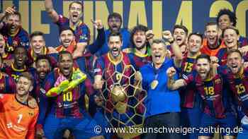 Barcelonas Handballer triumphieren in der Champions League