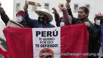 Hängepartie nach der Wahl: In Peru steigen die Spannungen