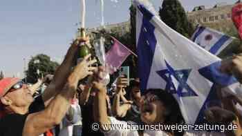 Knappe Parlamentsmehrheit für Israels neue Regierung