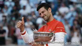Sieg bei den French Open: Djokovic jagt Federer und Nadal
