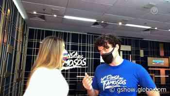 Carmo Dalla Vecchia faz tratamento na banheira de gelo para o 'Super Dança': 'Qualquer lesão que tenha ajuda muito' - gshow