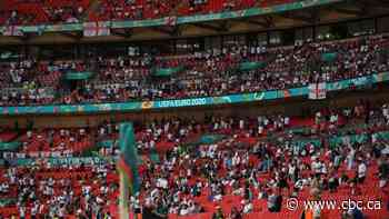 Fan seriously injured in fall from stands during England-Croatia Euro 2020 match