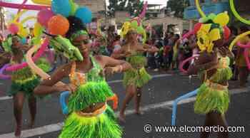La agrupación Tierra Negra enciende el festival del canalete - El Comercio - El Comercio (Ecuador)