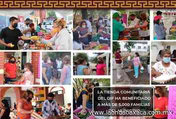 Yolanda Santos Montaño edil de San Jacinto Amilpas ha destacado su administración por implementar programas en beneficio de las familias de su municipio - La Onda Oaxaca