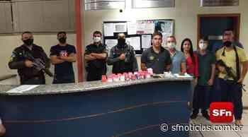 Polícia cumpre mandado e apreende drogas em Miracema - SF Notícias