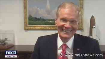 Nelson confident in space agency's budget, mission: 'Everybody loves NASA' - FOX 13 Tampa Bay