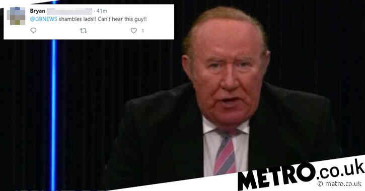 GB News launch suffers technical difficulties as viewers hear 'whispers' during chaotic Andrew Neil interview