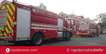 Princípio de incêndio mobiliza Bombeiros no Centro de Limeira, mas situação já foi controlada - Rápido no Ar