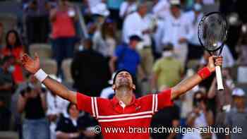 Drama in Paris: Djokovic schnappt Tsitsipas Titel weg