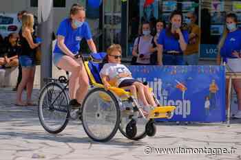 Une manifestation festive à Vichy pour porter le thème du handicap sur la place publique - La Montagne