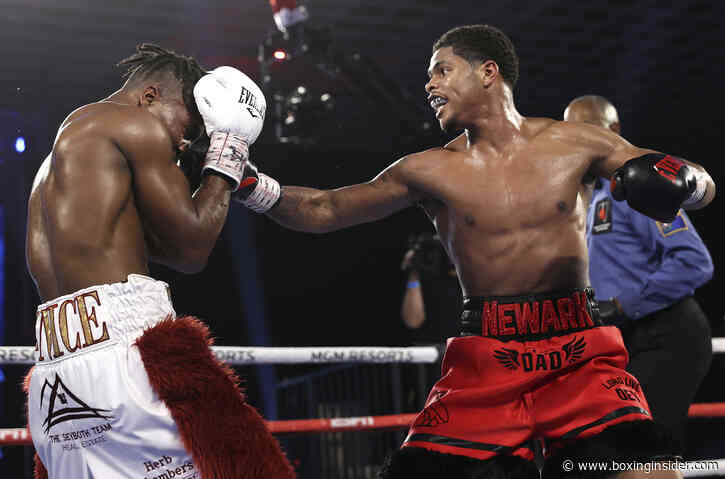"""Shakur Stevenson: """"Jamel (Herring) Is a B-level fighter, He Can't Beat Me"""""""