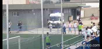 Susto en el partido del Élite Talavera contra La Roda - www.lavozdeltajo.com
