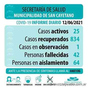 San Cayetano sumó un nuevo caso de coronavirus - La Voz del Pueblo