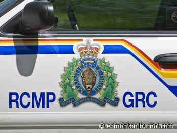 Two motorcyclists injured, one in critical condition, in collision southwest of Edmonton