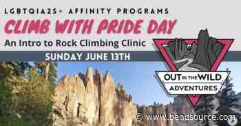 Climb with Pride Day | Smith Rock State Park, Terrebonne OR | Outdoor Activities + Skills Classes - The Source Weekly