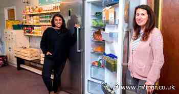 'I visited the fridges giving away free food as people struggle in the pandemic'