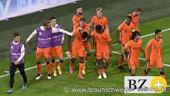 3:2! Niederländer gewinnen spektakuläres Spiel gegen Ukraine