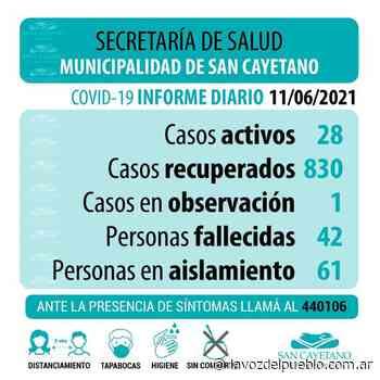 San Cayetano: se diagnosticaron dos nuevos casos de coronavirus - La Voz del Pueblo