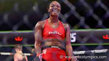 Former Olympic boxing gold medalist Claressa Shields wins MMA debut - NBC Olympics