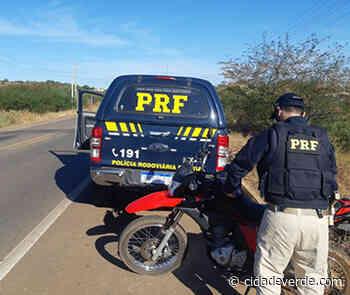 Mulher é presa com motocicleta roubada em Pernambuco - Picos - Cidadeverde.com